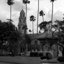 First Congregational Church of Riverside with Chinese Pavilion