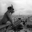 Gargoyle observing Paris